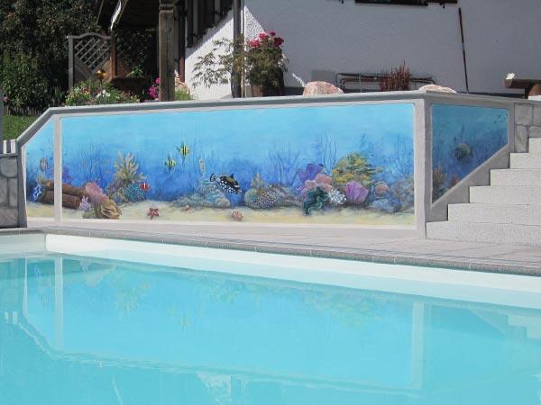 Malerei Pool 1