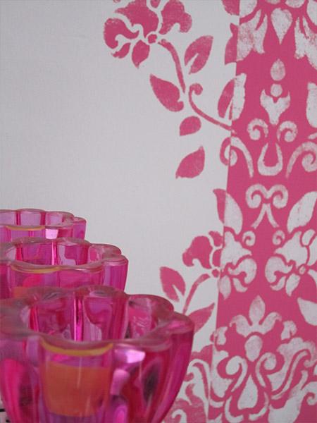 Ornament rosa