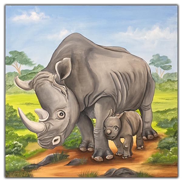 Bild Nashorn