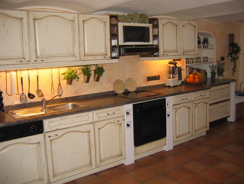 Küche beige